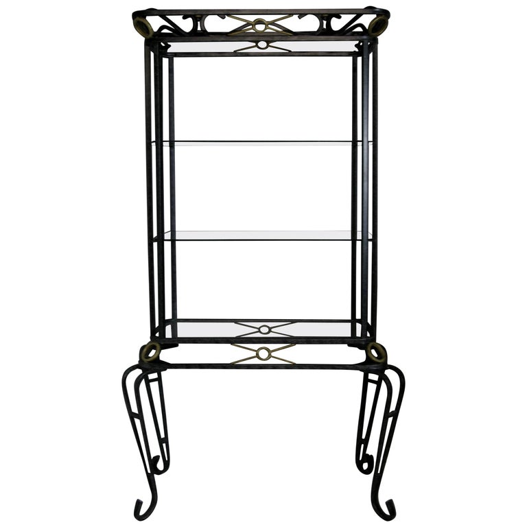 Display Cabinet, Vintage Vitrine, French Display Cabinet, Bathroom, Kitchen For Sale