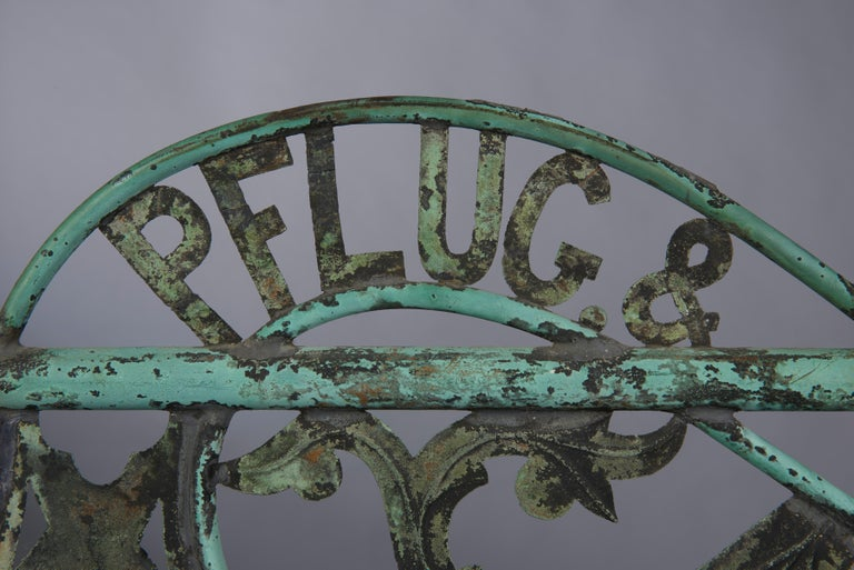 Folk Art Distillery Weathervane from Long Island, circa 1880 For Sale