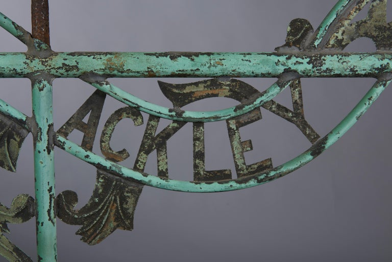 American Distillery Weathervane from Long Island, circa 1880 For Sale