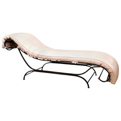 Distinctive Steel Chaise Lounge