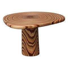 Distortion, StudioManda, Coffee Table, Mixed and Layered Wood, Tree Lebanon 2017
