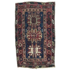 Distressed Antique Shirwan Rug