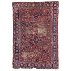Distressed Antique Turkish Sparta Rug with Industrial Rustic Artisan Style