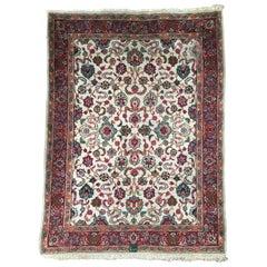 Distressed Decorative Tabriz Rug