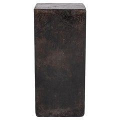 Distressed Riverstone Side Table