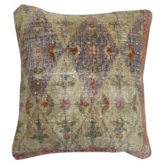 Distressed Rug Pillow