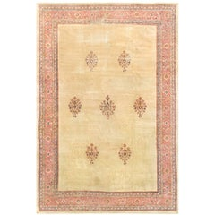 Distressed Shabby Chic Vintage Turkish Rug