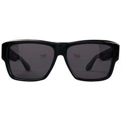 "DITA ""Insider"" Black Acetate Sunglasses"