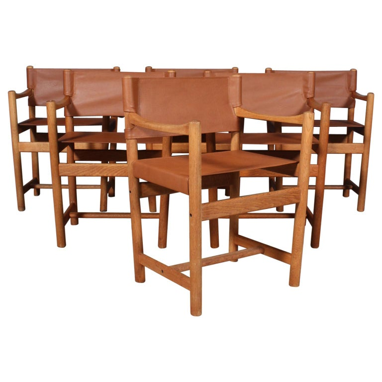 Ditte Heath, Armchairs, FDB, 1970s For Sale