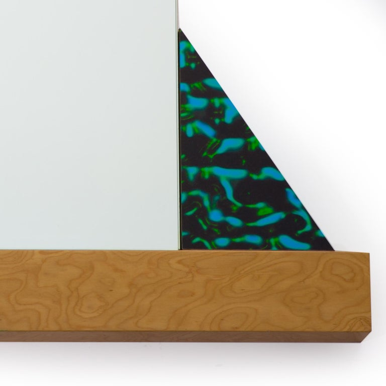 Modern Diva Mirror, by Ettore Sottsass from Memphis Milano For Sale