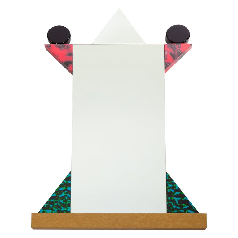 Diva Mirror, by Ettore Sottsass from Memphis Milano For Sale