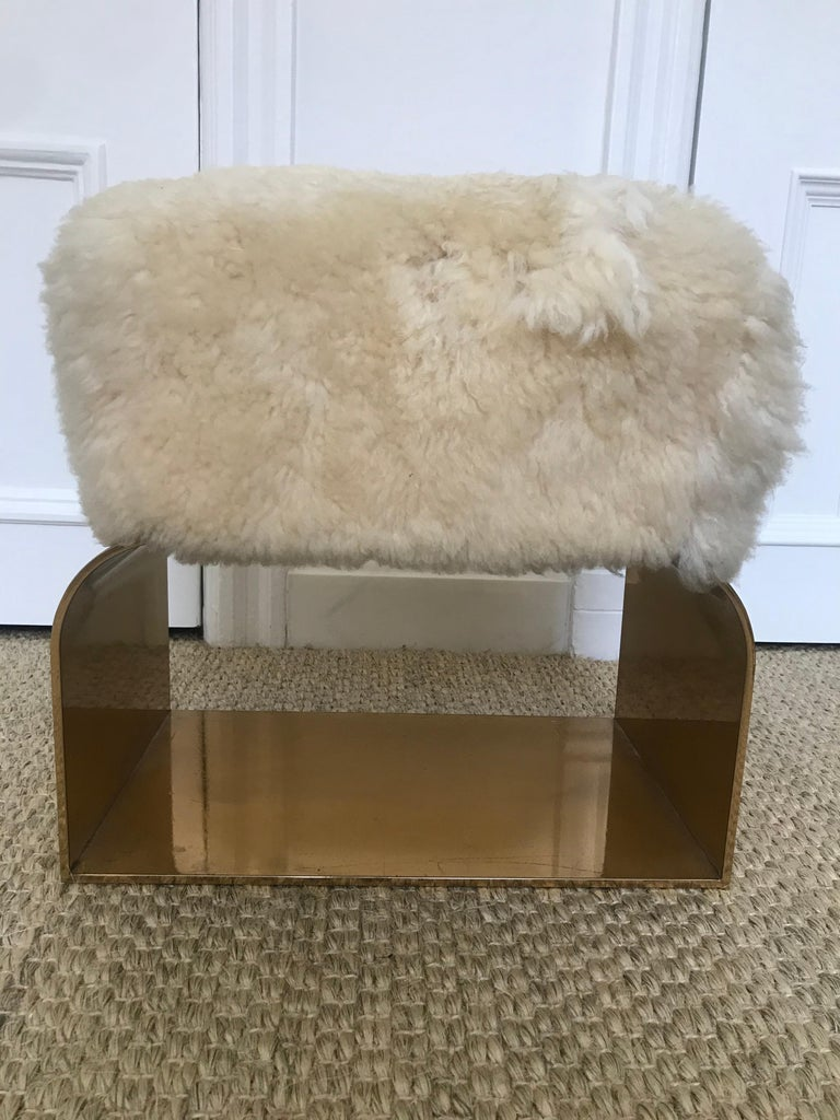 Diva Petite Stool In Good Condition For Sale In New York, NY