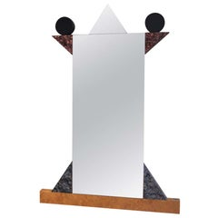 """Diva"" Wall Mirror by Ettore Sottsass for Memphis srl"