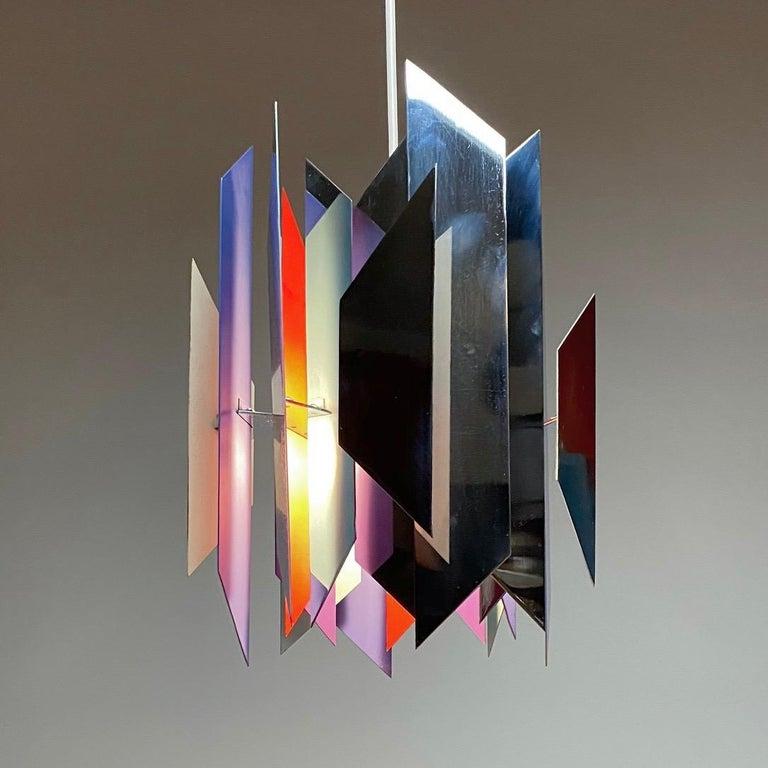 Divan 2 Ceiling Light by Simon Henningsen for Lyfa, Denmark, 1970 For Sale 3