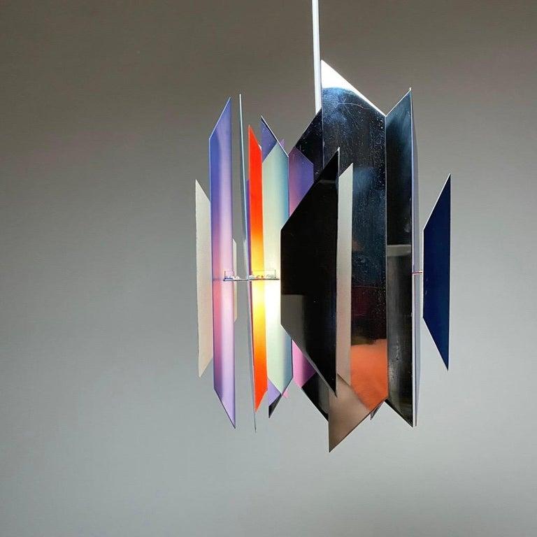 Late 20th Century Divan 2 Ceiling Light by Simon Henningsen for Lyfa, Denmark, 1970 For Sale