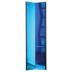 Divina Commedia Luxury Blue or Red Artisanal Mirrors, Made in Italy