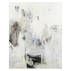 """Dixie Purvis Acrylic on Board Abstract """"Crossing Over"""""""