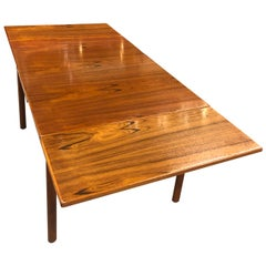 Dixie Teak Expanding Draw Leaf Petite Dining Table