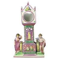Dixon and Austin Watch Stand Decorated in Pink Splash Luster