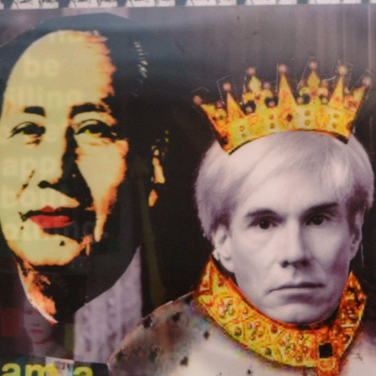 King Warhol Lenticular Print by DJ Leon For Sale 2