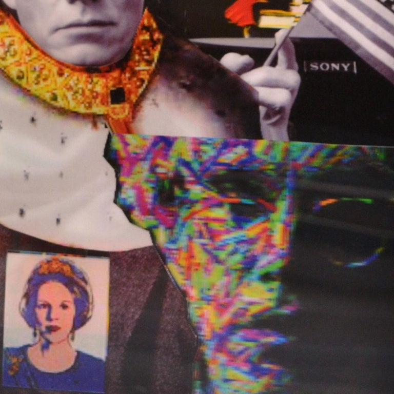 King Warhol Lenticular Print by DJ Leon For Sale 3