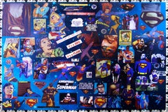 Superman: It's a Bird, It's a Plane, Lenticular Digital Print by DJ Leon