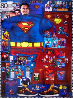 Superman, Dye Sublimation Print by DJ Leon, 40 x 27 in