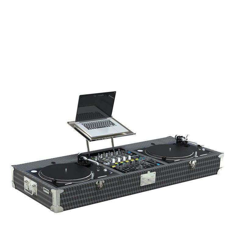 Italian DJ Set Vinyl Trunk For Sale