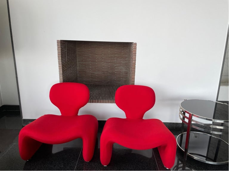 European Djinn Chair, 1960s, by Olivier Mourgue for Airborne