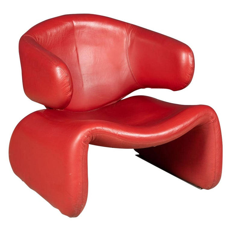 """""""Djinn"""" Chair, Designed by Olivier Mourgue, France, circa 1970"""
