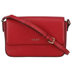 Dkny Woman Shoulder bag  Red Leather