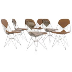 DKR Wire Chairs 'Bikini' by Eames for Herman Miller