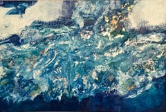 Sea Foam, Abstract Painting