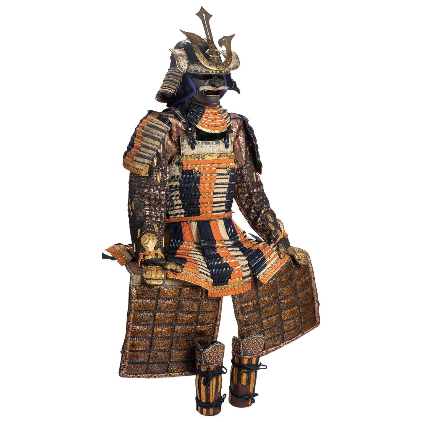 Dō Maru Tosei Gusoku, Japanese Armor of Do-Maru Type, Early Edo Period, 17th-18t