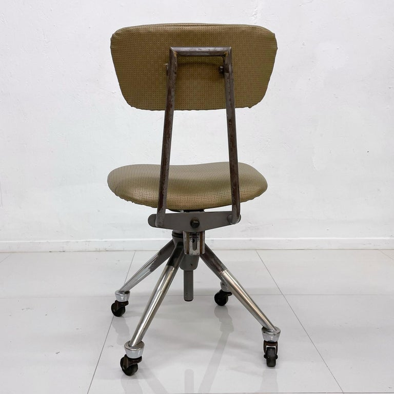 Painted Do More Office Chair Mid-Century Modern Industrial, USA For Sale