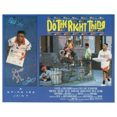 Do the Right Thing 1989 U.S. Scene Card