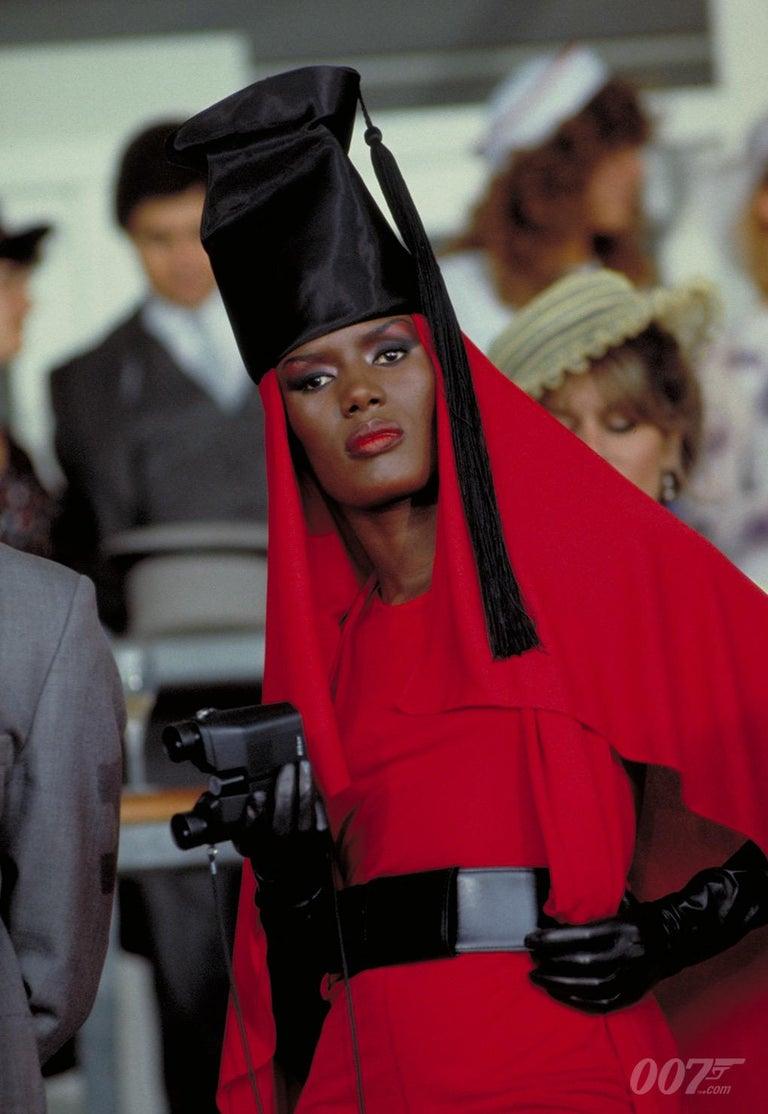 Film Documented F/W 1984/85 AZZEDINE ALAÏA PARIS Black Smooth Leather Waist Belt For Sale 5