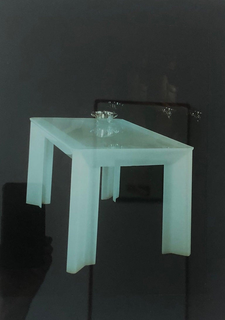 Documented Peter Banks Unique Smoked Perspex Dining Chairs, MidCentury Space Age 6