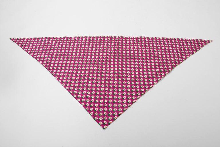 Documented Yves Saint Laurent Peasant Skirt & Stole, Spring-Summer 1977 For Sale 6