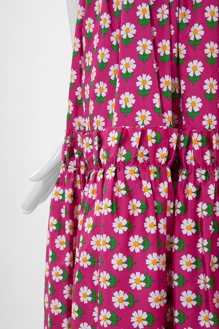 Documented Yves Saint Laurent Peasant Skirt & Stole, Spring-Summer 1977 For Sale 2
