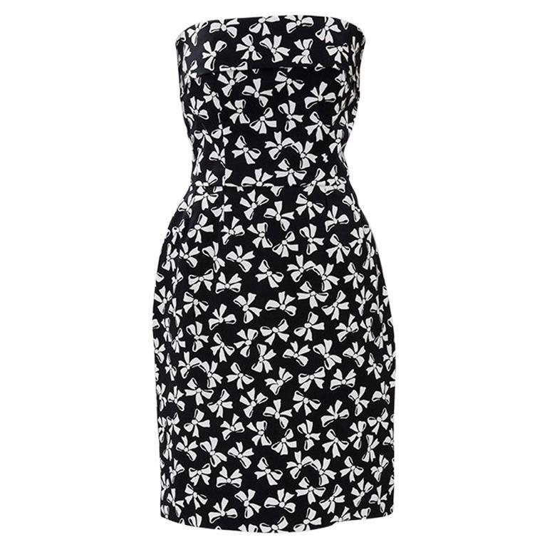 Documented Yves Saint Laurent Strapless Dress, Spring-Summer 1987