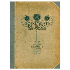 Documents Du Bijou Art Moderne, Art Nouveau Jewelry Designs