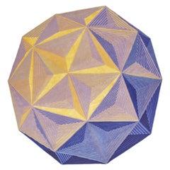 Dodecaedro Carpet, Limit Ed, Handknot, 200kn, Wool+Bamboo Silk, Lanzavecchia+Wai