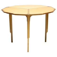 Dodecagon Shaped Marquetry Table