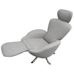 Dodo Reclining Lounge Chair by Toshiyuki Kita for Cassina