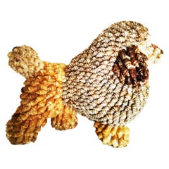 Dog Made with Shells and Seashells, 20th Century, Spain