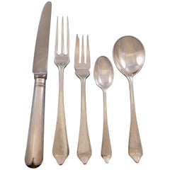 Dog Nose by CJ Vander Sterling Silver Flatware Set for 10 Service Dinner Size
