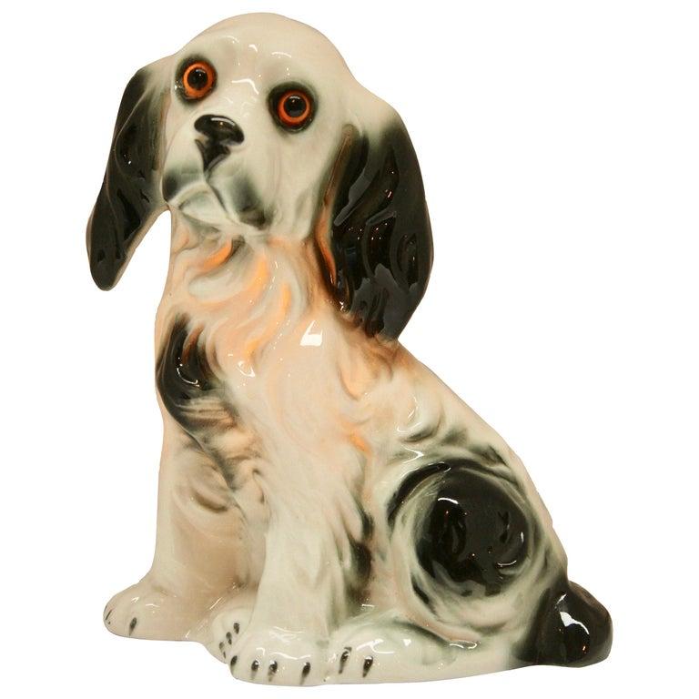 Dog Perfume Lamp / Air Purifier /Carl Scheidig Gräfenthal, Germany, circa 1930s For Sale