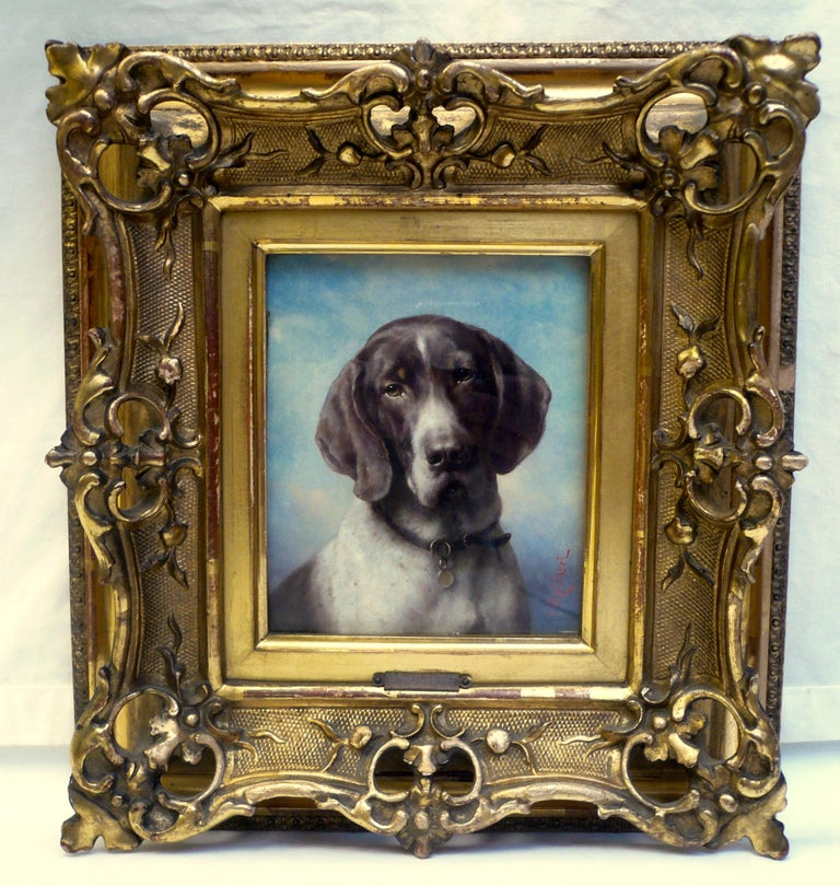 Carl Reichert (1836-1918) graduated from the Academy of Drawing in Gatz. He became recognized for his skill as an animal portraitist after a commission by Count Hill, of Reintal castle caught the attention of the Austrian imperial court. Reichert