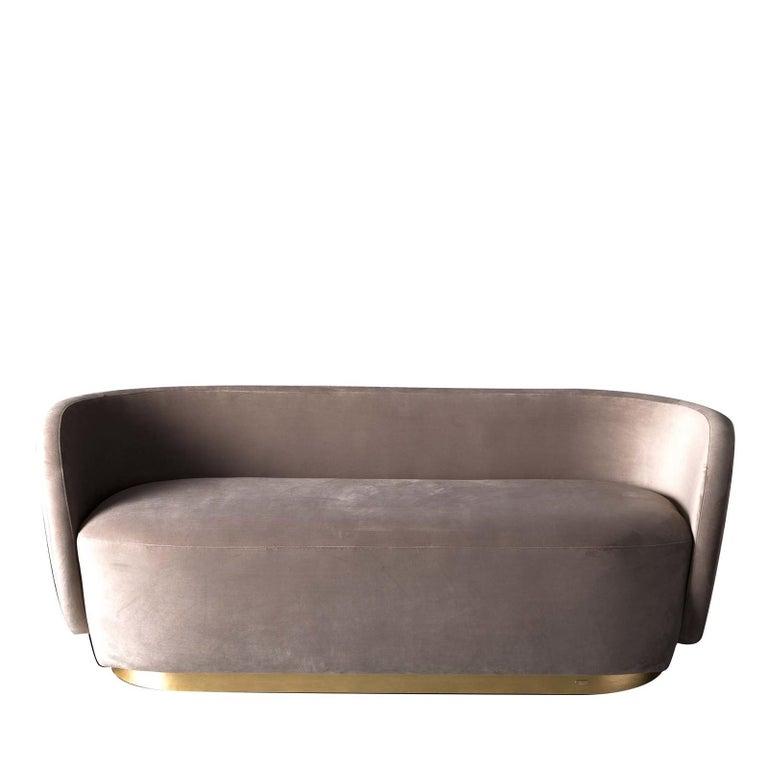 Modern Doge Sofa by Ciarmoli Queda Studio For Sale